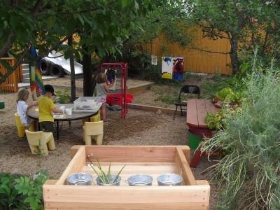 Sunflower Preschool Boulder Nature Explore Program