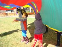 27. Open Lawn Area-Parachute games