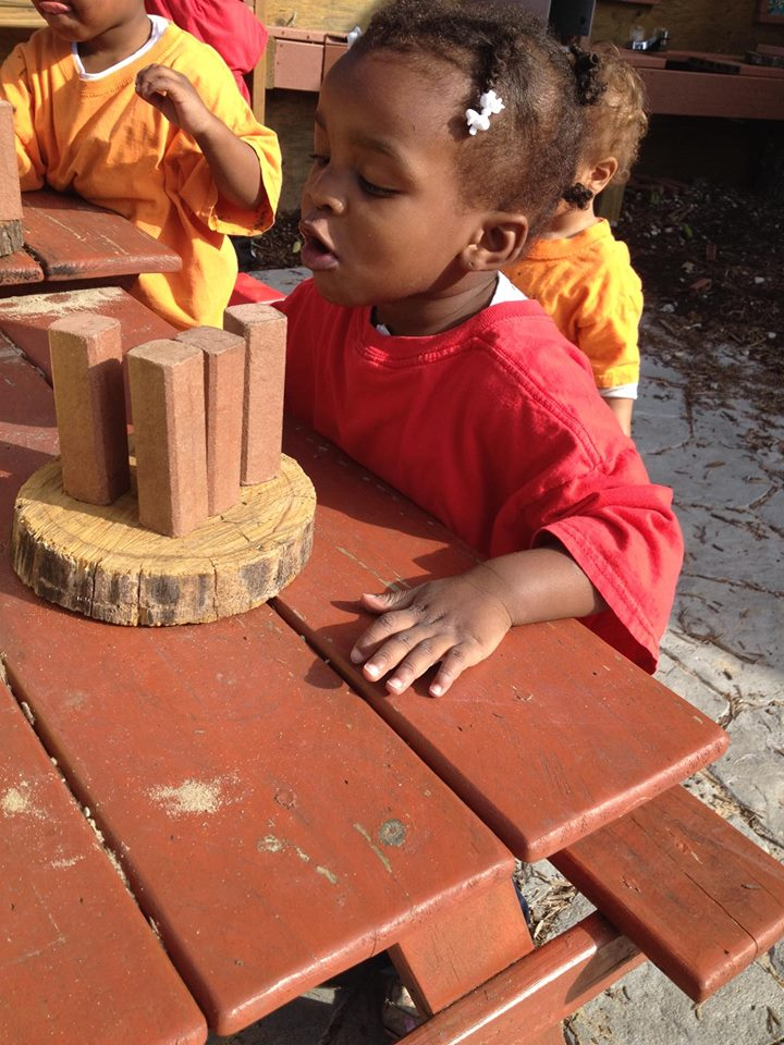 Enriching Early Childhood Experiences >> Baby Talk Early Head Start Nature Explore Program