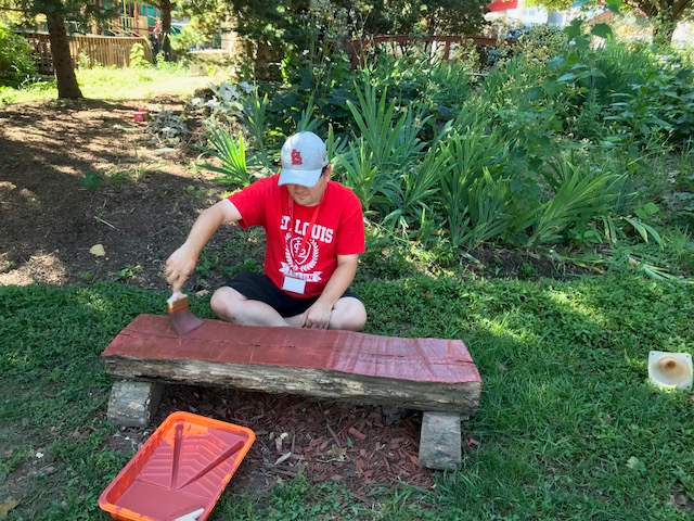 Surprising Sacred Heart Villa Clelias Outdoor Classroom Nature Uwap Interior Chair Design Uwaporg
